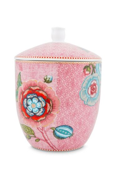 Spring to Life Storage Jar Pink