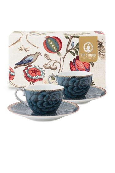 Spring to Life Espresso Set 2 Blue