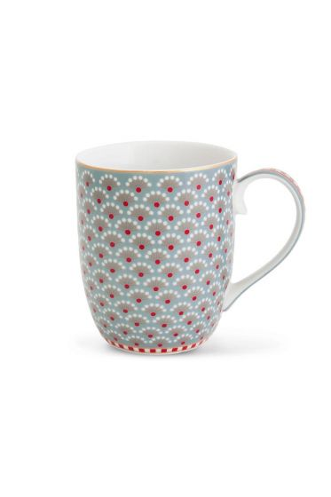 Small Floral Bloomingtales mug blue