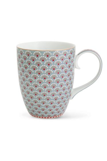 Big Floral Bloomingtales mug blue