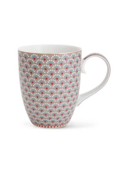 Big Floral Bloomingtales mug khaki