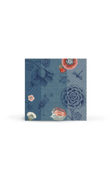 Spring to Life Paper Napkins Blue