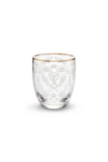 Floral waterglas