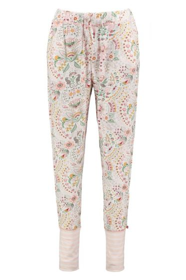 Long Trousers Sea Stitch Pink