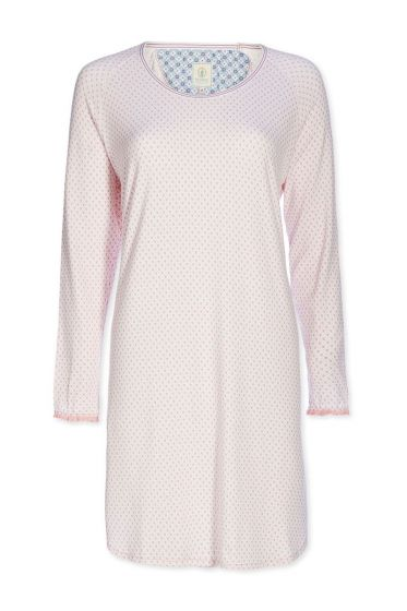Nightdress round neck Go Nuts pink