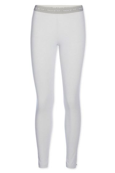 Legging long Stripers grey