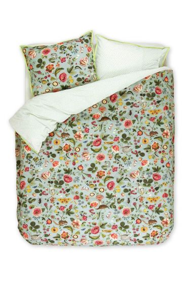 Duvet cover Woodsy green