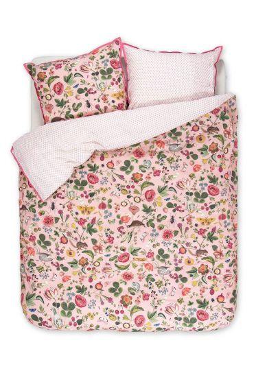 Bettbezug Woodsy rosa