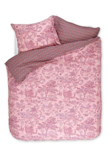 Duvet cover Hide and Seek pink