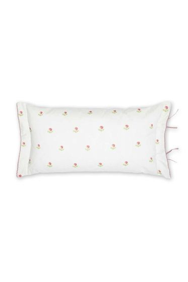 Cushion Family Tree rectangle pink / white