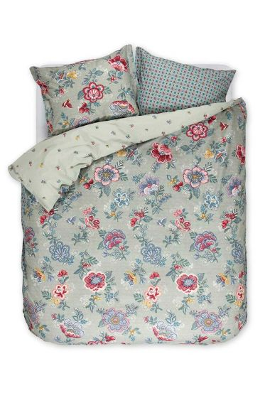 Duvet cover Berry Bird green