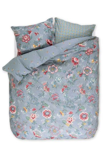 Duvet cover Berry Bird blue