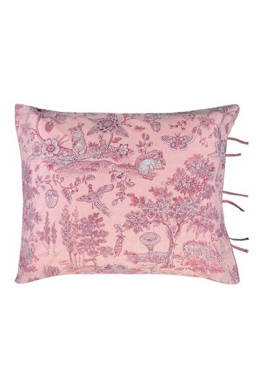Pillowcase Hide and seek pink