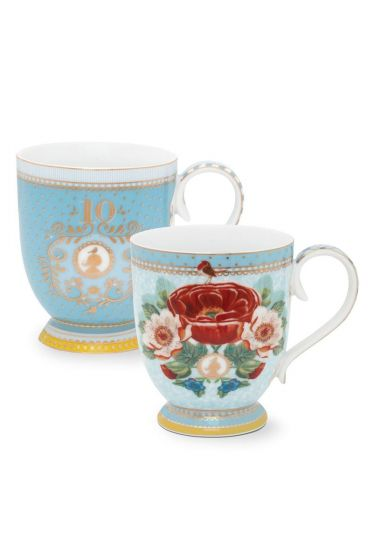 Set/2 mugs Pip 10 Years