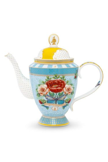 Tea Pot Big Rose Pip 10 Years