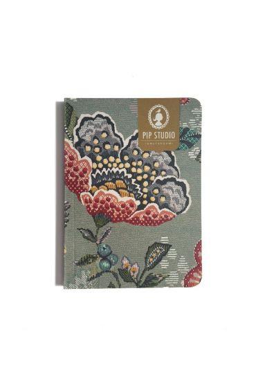 Notebook Small Berry Bird Green
