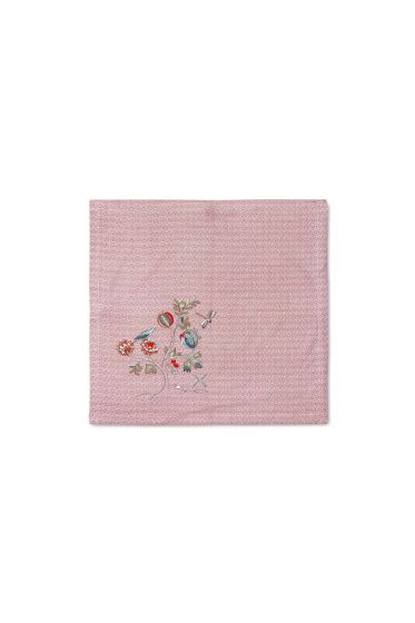 Spring to Life Lacy Theedoek Roze