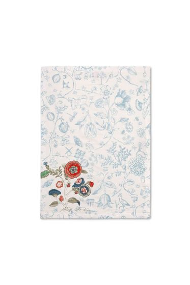 Spring to Life Tea Towel Blue