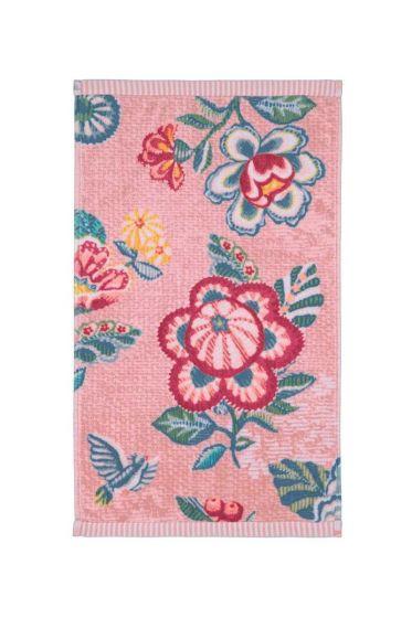 Guest towel Berry Bird pink
