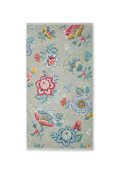 XL bath towel Berry Bird green 70 x 140 cm