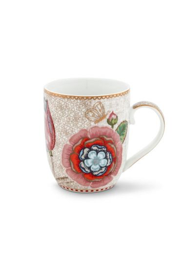 Spring to Life Mug Small off white