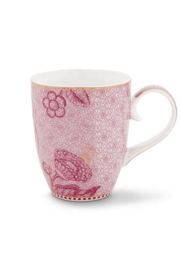 Spring to Life Mug Large pink