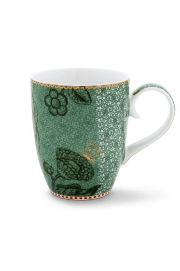 Spring to Life Mug Large green