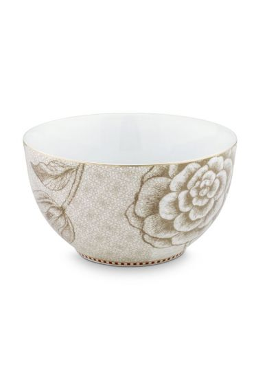 Spring to Life Bowl 15 cm off white