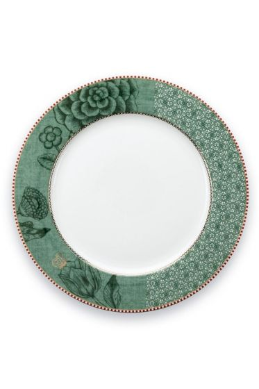 Spring to Life Dinerbord 26,5 cm groen
