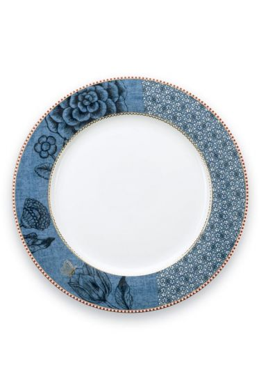 Spring to Life Dinner Plate 26,5 cm blue