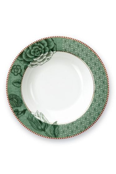 Spring to Life Soup Plate 21,5 cm green