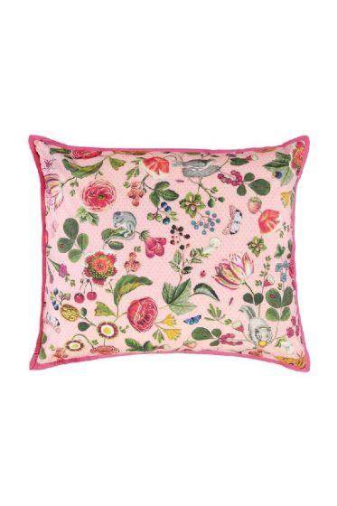 Kussensloop Woodsy roze