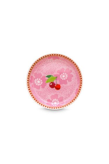 Floral Tea Tip Dotted Flower Pink
