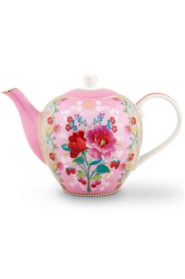 Floral Teekanne Rose 1,6L Rosa