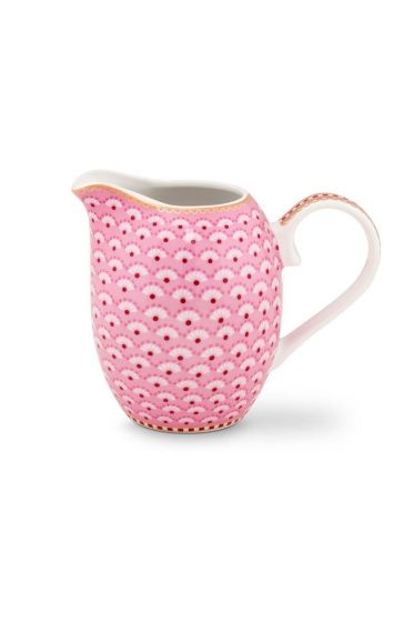Floral Jug Small Bloomingtails Pink