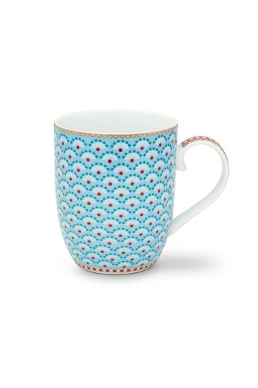 Floral Mug Small Bloomingtails Blue