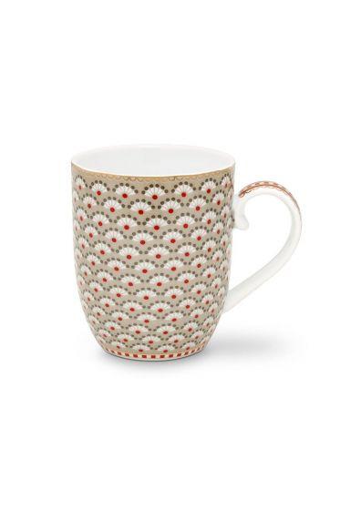 Floral Mug Small Bloomingtails Khaki