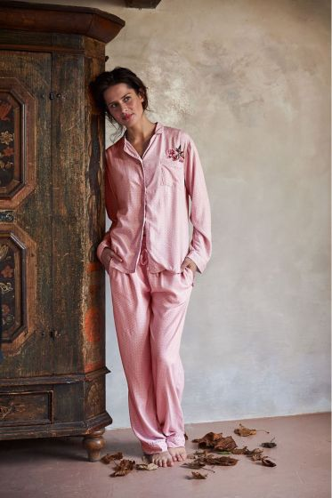 Pajamas Honey Comb pink