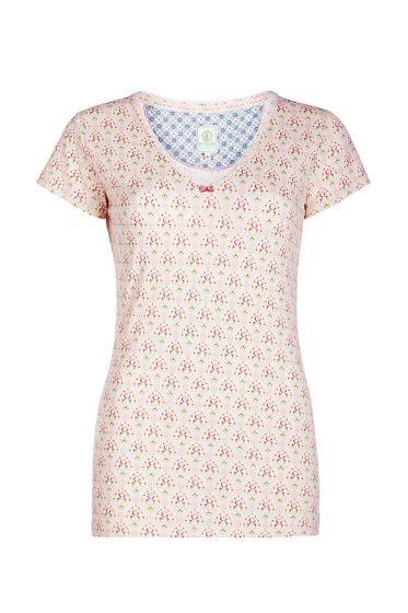 T-shirt Mumbai Heart rosa