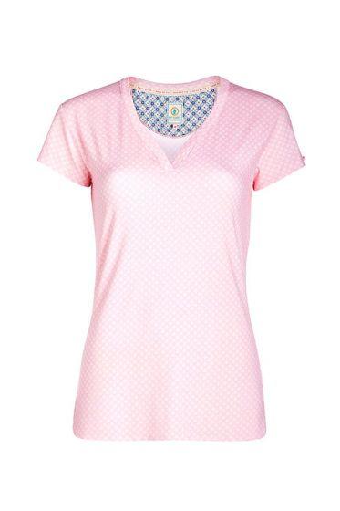 T-shirt Leaf Me pink