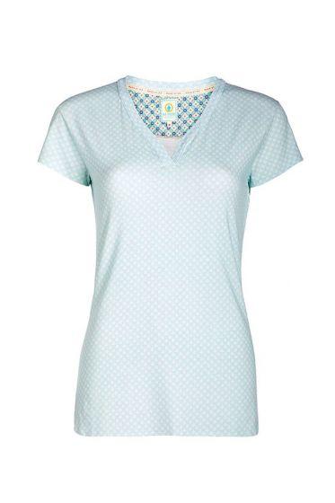 T-shirt Leaf Me blauw