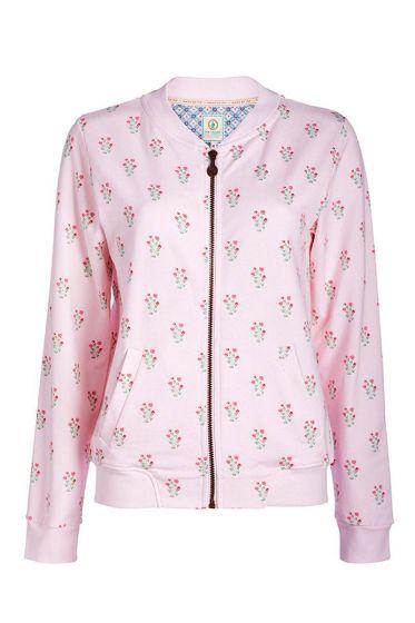 Vest lange mouwen Upsy Daisy roze
