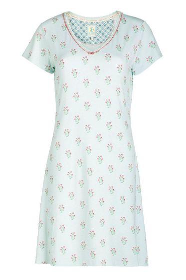Nachthemd kurze Ärmel Upsy Daisy blau