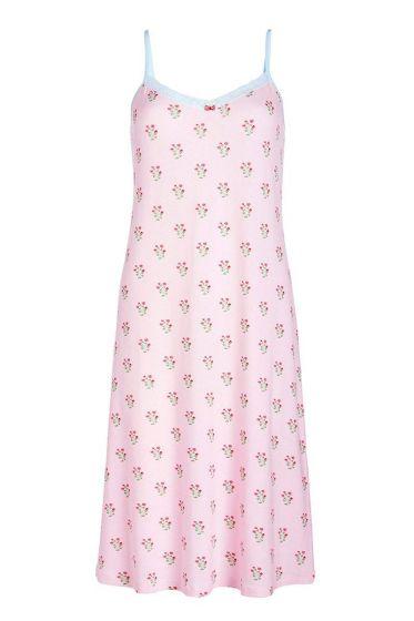 Mouwloze nachtjurk Upsy Daisy roze