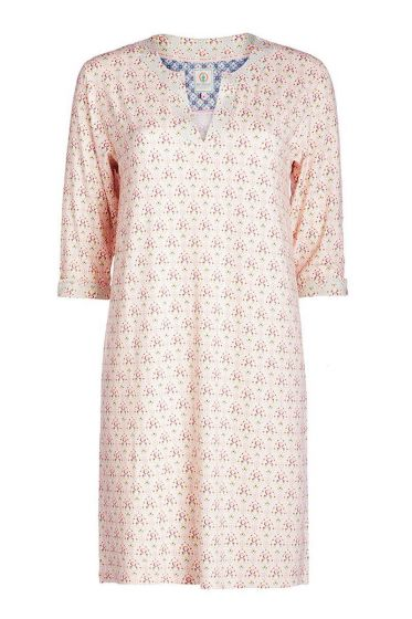 Nightdress 3/4 sleeve Mumbai Heart pink