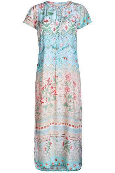 Nightdress short sleeve Darjeeling multicoloured