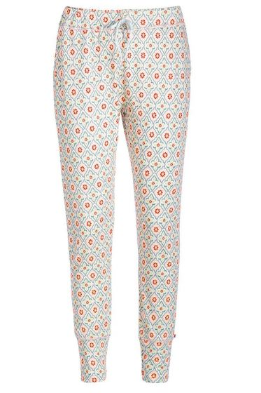 Long trousers Star Check pink