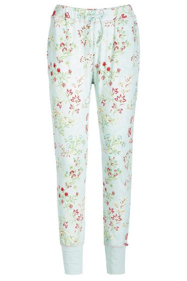 Long trousers Jaipur Flower blue