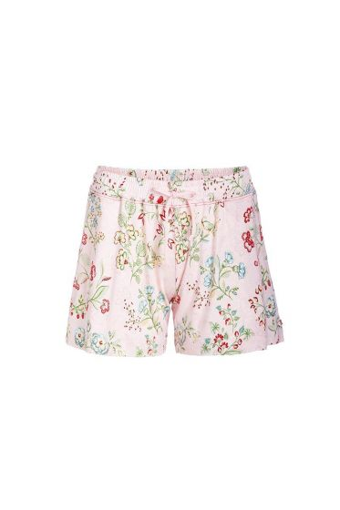 Short trousers Jaipur Flower pink
