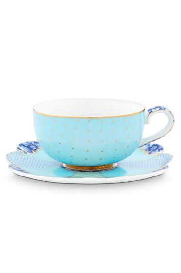 Royal Espressotasse & Untertasse blau